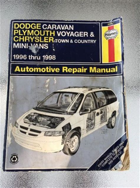 free car repair manuals 1992 plymouth voyager instrument cluster manuals literature for sale find or sell auto parts