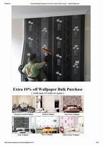 Korean wallpaper singapore for home, houses, offices ...