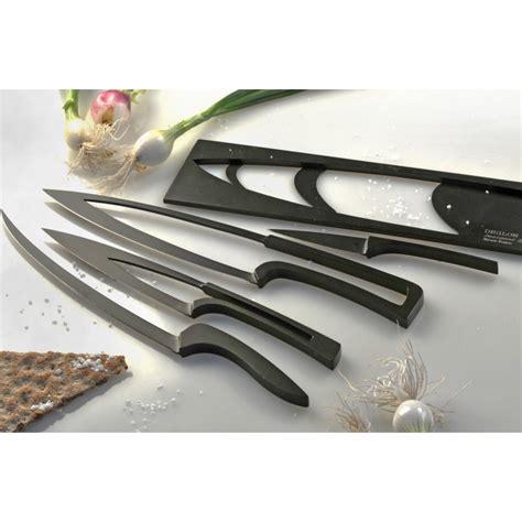 ensemble couteau de cuisine ensemble de 4 couteaux de cuisine noirs anti adhérents