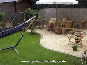 Terrasse Mit Kies : kiesgarten anlegen gartengestaltung mit kies ~ Markanthonyermac.com Haus und Dekorationen