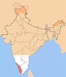 India Map Kerala