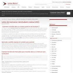 Cv Modèle étudiant by Cover Letter Exle Lettre De Motivation Gratuit