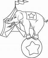 Circus Coloring Pages Printable Sheets Sc Tent St Animals sketch template