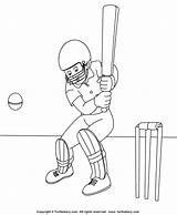 Cricket Coloring Pages Sheet Wireless Sports Turtle Diary Turtlediary Template Sketch Crafts Templates Activities Games Rate Looking Feedback Give sketch template