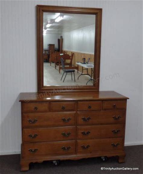 sumter cabinet co early american dresser mirror