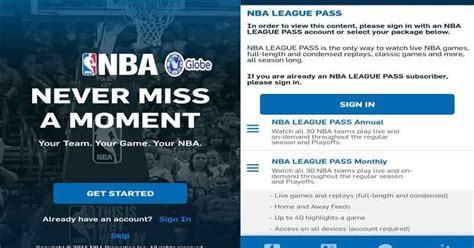 Globe Offers Nba Live Games With Premium League Pass Promo