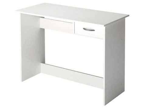 Bureau Tiroir by Bureau 1 Tiroir Alpin Coloris Blanc Vente De Bureau