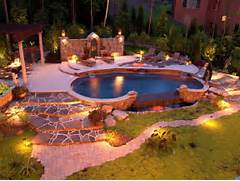 Great Garden Lighting Ideas For A Beautiful Log Cabin Exterior Quick Modern Outdoor Lighting Modern Outdoor Lighting Garden Lights For The Pool Best Patio Garden And Landscape Lighting Ideas For 2014 Qnud