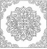 Coloring Patterns Colouring Adults Printable Abstract sketch template