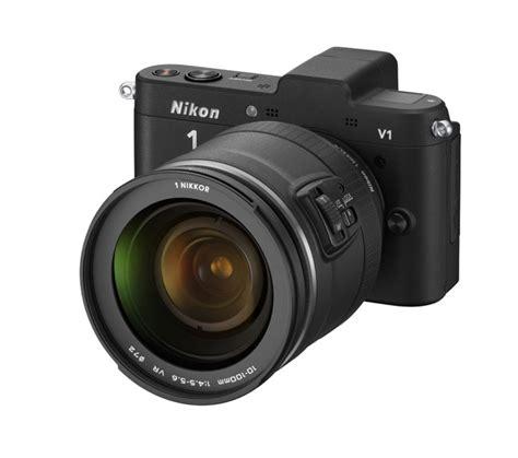 Nikon V1 by Nikon J1 And V1 Mirrorless Cameras Announced