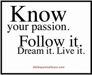 Find your passion in life | The Journey