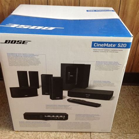 bose cinemate 520 home theater system brand new bose
