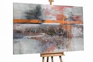 Douglasie öl Grau : l bild in grau xxl abstrakt kaufen kunstloft ~ Lizthompson.info Haus und Dekorationen