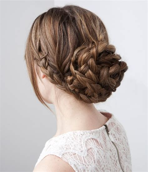 Easy Updo Hairstyle Tutorials by 15 Braided Updo Hairstyles Tutorials Pretty Designs