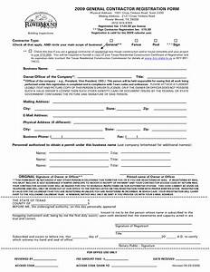 10 best images of general contract agreement template With general contractors contract template