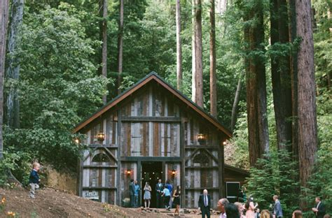Magical Redwood Forest Wedding