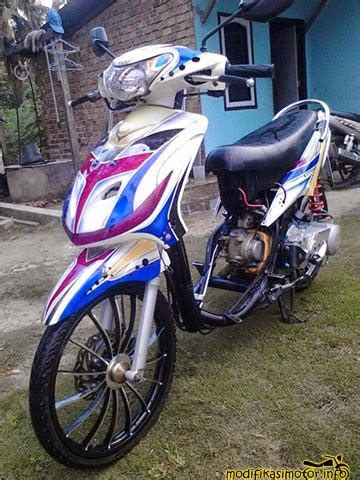 Modif Mio Soul Racing Look by Gambar Foto Modifikasi Motor Mio Soul J Sporty Terbaru