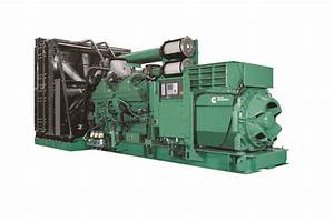 Cummins Qsk60 Diesel Series Sets New Standard For Power  Performance And Reliability