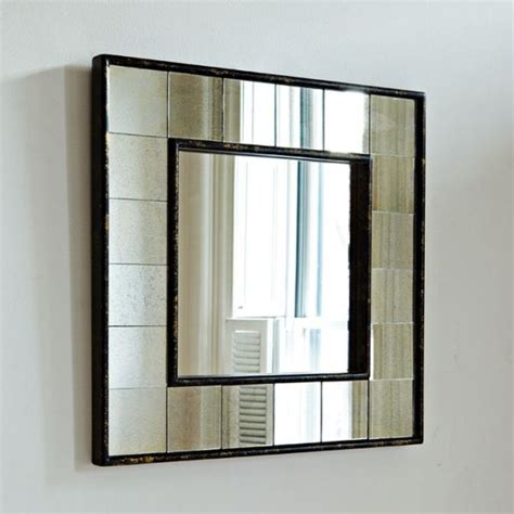 mirror frame molding antique tiled square wall mirror