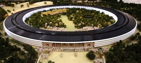 siege de apple à la découverte du futur siège social d apple imaginé par