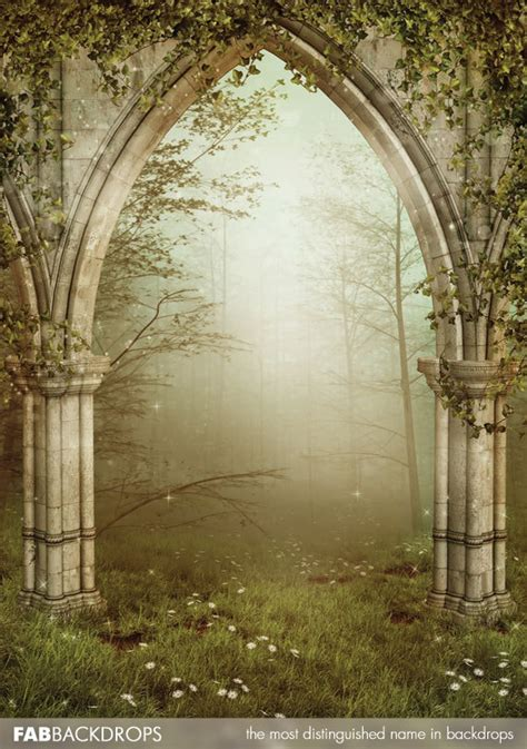 enchanted fairy forest backdrop fairy  princess photo booth