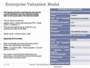 Enterprise Value Berechnen : valuation of banks ~ Themetempest.com Abrechnung