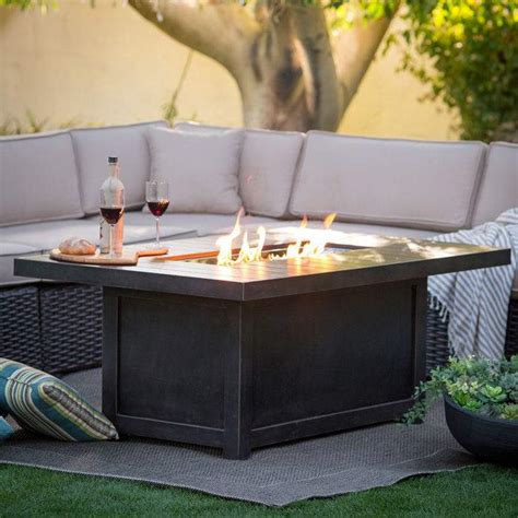 Fire pit table with wicker base. Napoleon Patioflame Chat Height Fire Pit Coffee Table, New | eBay