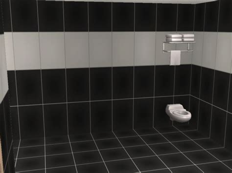 Mod The Sims   Bathroom Tiles in Ikea Lack Colors