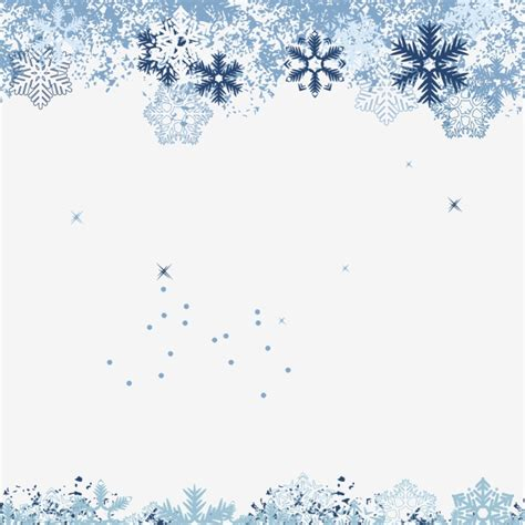Snowflake Background Png by Winter Snowflake Background Material Snowflake Clipart
