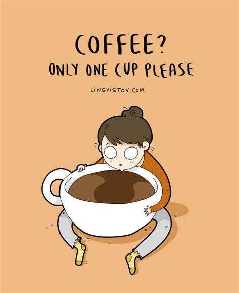 Jokes & zingers all coffee drinkers will find funny. Lingvistov.com - #illustrations, #doodles, #joke, #humor, #cartoon, #cute, #funny, #comics, # ...