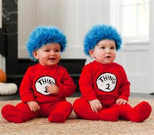 Thing 1 Halloween Costume for Babies