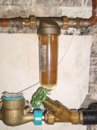brunnen spülen mit hochdruckreiniger kalkfilter wasserleitung abfluss reinigen mit