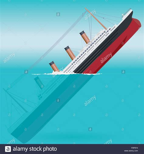 Sinking Boat Icon by Sinking Titanic Big Ship Legendary Colossal Boat