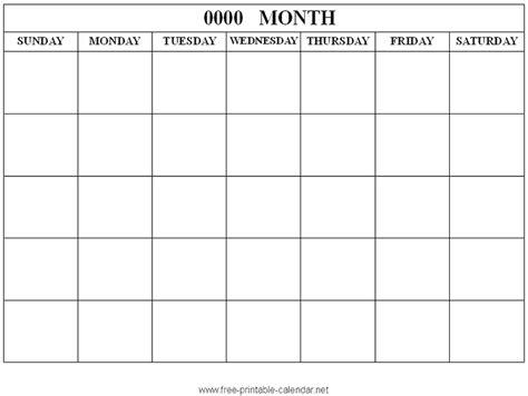 Blank Spanish Calendar Template Costumepartyrun