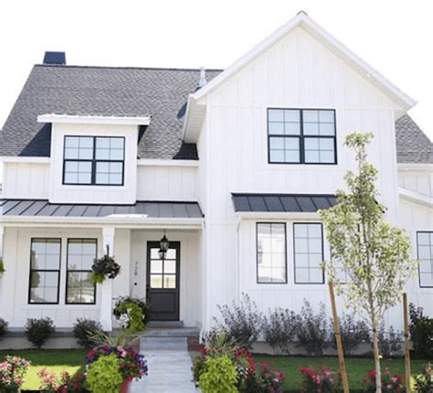 white home exterior ideas youll swoon  caroline