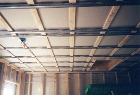 Resilient Channel Ceiling Leveling by Jd Drum School The Building Of Jd Drum School