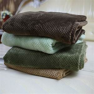 Thick High Quality Blanket Coral Fleece blankets warm ...