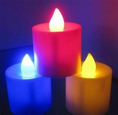 Candele Color by Color Changing Candle Led Candle Wholesale Led Battery