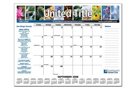 real estate desk calendars smart title and settlement companies use desk pad