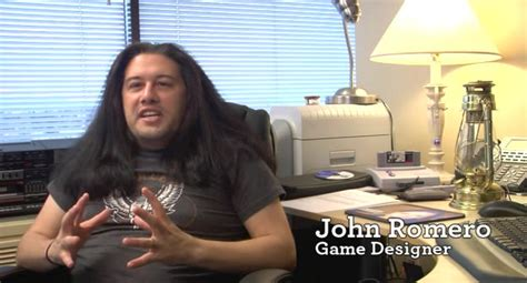 John romero (2012) alfonso john romero (born october 28, 1967) is a famous figure in the computer gaming industry, and was a founding employee of id software. id Software, 1992. | Rebrn.com