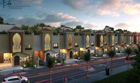 images  modern arabic villas  pinterest