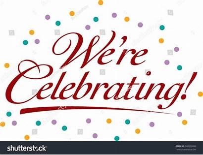 Celebrating Re Celebration Party Vector Title Invitation