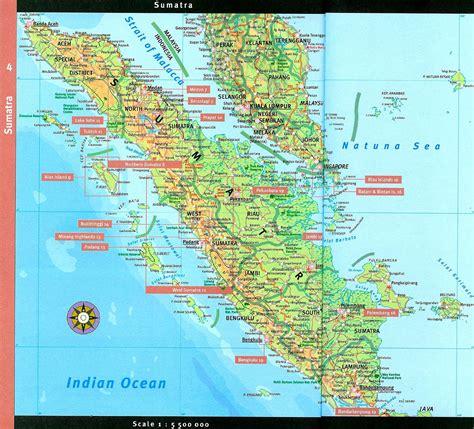 large sumatra maps     print high