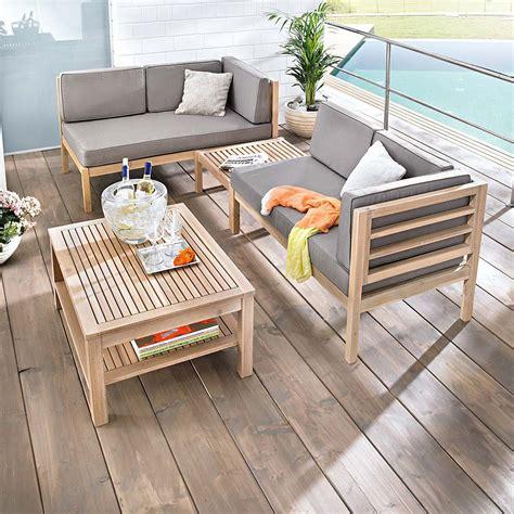 Garten Lounge Möbel Holz by Gartenm 246 Bel Set Holz 3 Tlg Moebeldeal