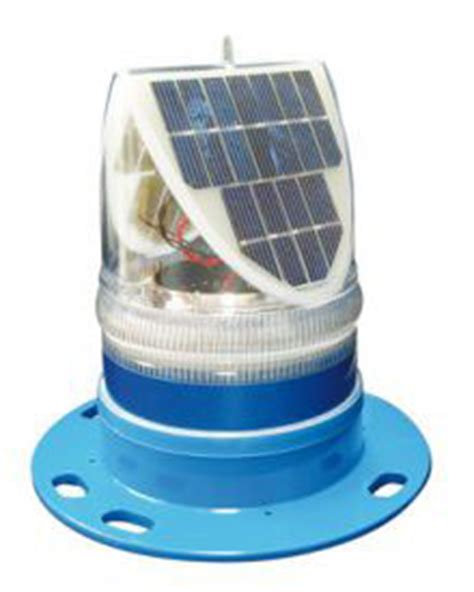 solar powered taxiway led lights blue