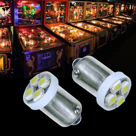 10x 1893 44 47 1847 ba9s 4 smd led pinball machine