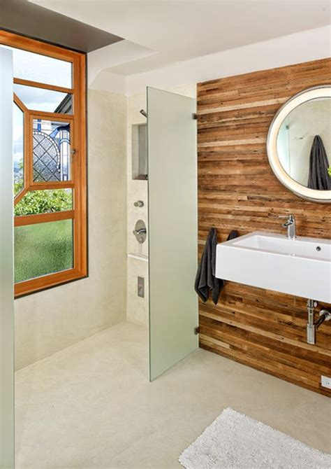 Bathroom Wall Covering Ideas by Windows That Light Up Interiors