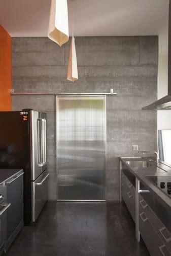 cement board concrete wall kitchen pinterest