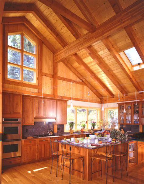 Kitchen Barn by Gallery Barn Homes Kitchen