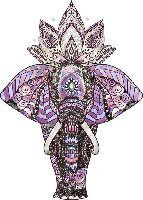 cosmic elephant piecesofandromedacom watercolor
